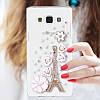 """Samsung J5 (2015) J500H оригинальный PC чехол панель накладка бампер прозрачный со стразами для телефона PAWO"""", фото 9"""
