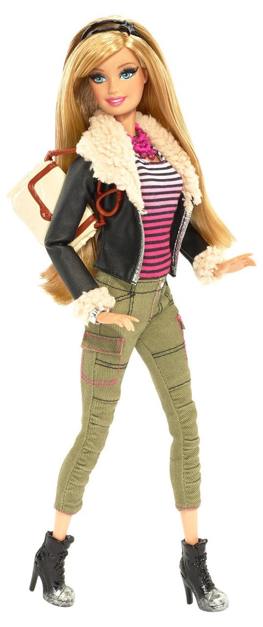 Барби Модница Делюкс кожаный пиджак