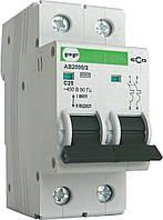 Автоматический выключатель ECO АВ2000 С 16А 2Р