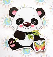 Магнитный стенд для крепления рисунка Панда