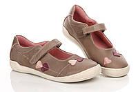 Туфли светло-коричневые 33 (Д)