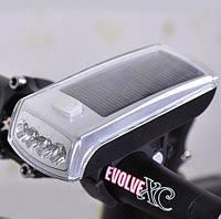 Велофара на солнечной батарее XC-990
