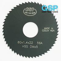 Фрезы пазовые по металлу для производства болтов GSP 80x1.0x22 Z=48 A HSS/DMo5