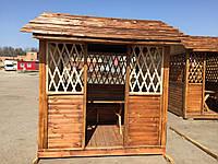 Строительство беседки деревянной  2,0х2,4х2,8 м, фото 1