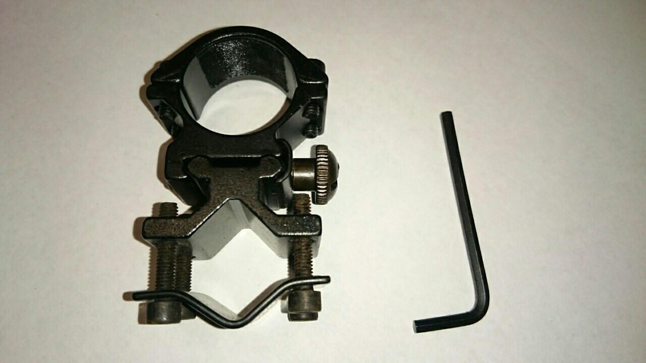 Крепление для фонарика под ружье BAILONG-4 (металл)