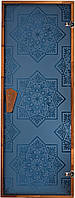 Дверь для сауны «СЕЗАМ Blue»