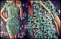 Летнее коттоновое платье 909