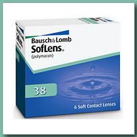 Контактные линзы Soflens 38 3 мес