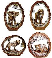 Статуэтки животных на полку