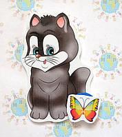 Магнитный стенд для крепления рисунка Котёнок