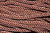 Канат декоративный 10мм (50м) коричневый (шоколад)