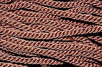 Канат декоративный 10мм (50м) коричневый (шоколад), фото 1