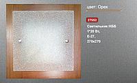 Светильник накладной деревянный Vesta 27552 1*E27 орех