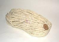 Толстая пряжа ручного прядения №2 Сливки