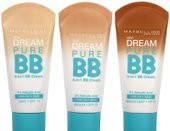 Dream Pure ВВ крем-уход для проблемной кожи 8 в 1, нат.беж
