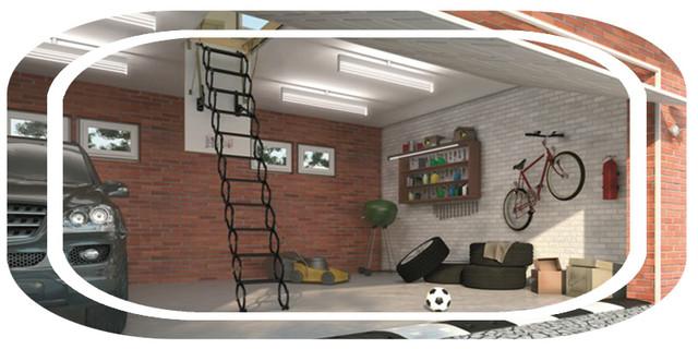 чердачные лестницы   лестница на чердак   Fakro   складная лестница