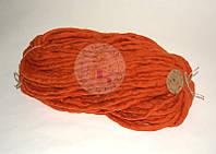 Толстая пряжа ручного прядения №12 Шафран