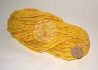 Толстая пряжа ручного прядения №14 Лимон