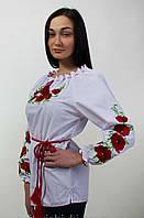 Женская блуза вышиванка с длинным рукавом