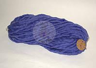Толстая пряжа ручного прядения №23 Индиго