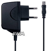 Зарядное устройство AWM V3 mini USB 2.1A New Paking черная, фото 1
