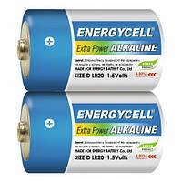 Батарейка Energycell Alkaline LR20 (D, 2шт, трей)