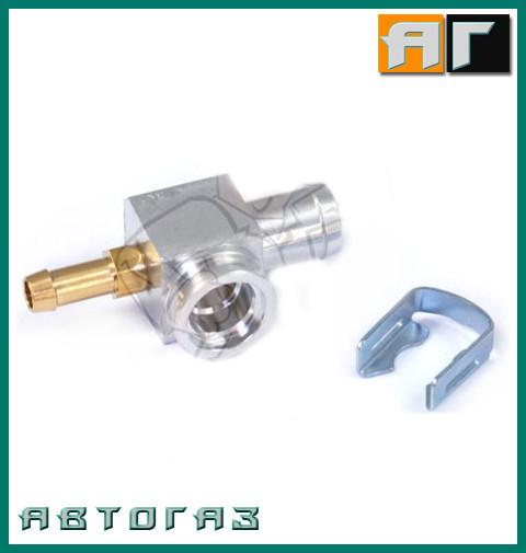 Фитинг, адаптер тройник форсунок Hana 2001 D12 - D6 GZ-940A 12mm - 6mm