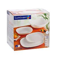 Сервиз Luminarc Lotusia white  19пр 1792