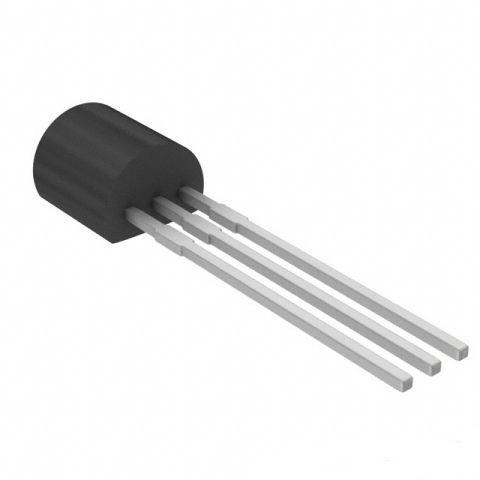 КП103Ж-1, Транзистор полевой с затвором на основе p-n перехода и каналом p-типа (TO-92)