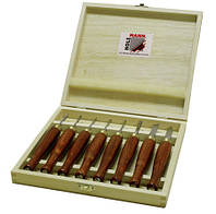 Комплект ножей для токарной обработки древесины HM8TLG