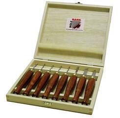 Комплект ножей для токарной обработки древесины HM8TLG Holzmann