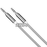 AUX кабель Belkin 1.8m серый