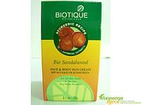 Солнцезащитный крем Био Сандал Bio. Уникальное сочетание растительных компонентов