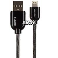 USB кабель Remax Apple Lightning в металлической оплетке