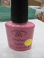 Гель-лак Global Fashion Shellac №15, 10 мл