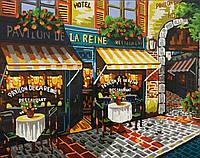 Живопись по номерам без коробки Pavilon de la reine (BK-B21) 40 х 50 см