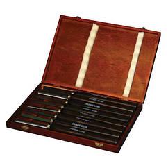 Комплект стамесок (резцов) для токарной обработки древесины H8TLG Holzmann