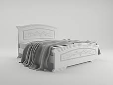 Кровать Инесса (1,80 м.) (белый супер мат), фото 3