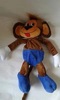Мягкая игрушка с карманом Обезьяна коричневая