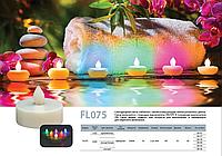 Светодиодная свеча (таблетка) FL 075, фото 1
