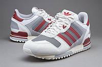Женские кроссовки Adidas ZX 700 Off White Rusred Mgsogr (адидас, adidas zx, оригинал) белые