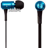 Гарнитура Awei ES-100i синие