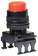Кнопка-модуль выступающая c фиксацией НF45C1 (красный), ETI, 4770015