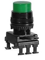 Кнопка-модуль выступающая c фиксацией НF45C2 (зеленый), ETI, 4770016
