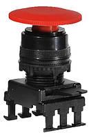 Кнопка-грибок HD55C1 без фіксації (40 мм, червоний), ETI, 4770022