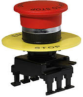 Кнопка-грибок НG55B1 відключення витяг. (40 мм, червоний), ETI, 4770024