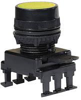 Кнопка-модуль утоплена HD15C4 (жовтий), ETI, 4770004