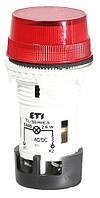 Лампа сигнальная матовая TL01U1 24V AC/DC (красная), ETI, 4770227
