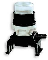 Кнопка-модуль выступающая с подсветкой HD46C8 (бесцветный), ETI, 4770144