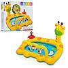 Бассейн Intex 57105 детский, жираф, 2 кольца
